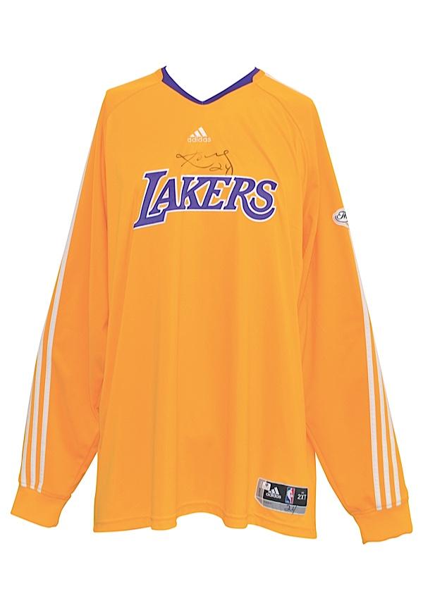63df764c83b1 Lot Detail - 2009-10 Los Angeles Lakers NBA Finals Player-Worn ...