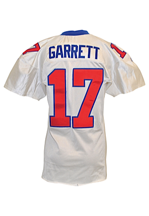 2001 Jason Garrett New York Giants Game-Used Home Jersey (Equipment Manager LOA)