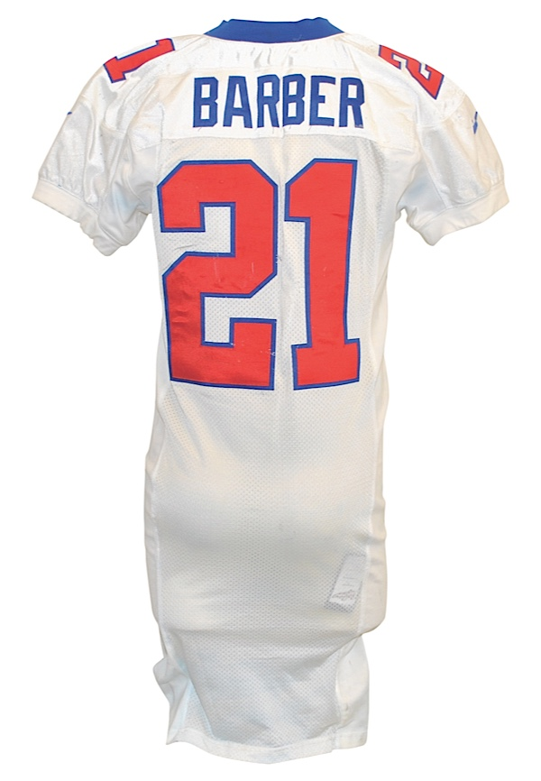 new concept 6a849 a1355 Lot Detail - 2000 Tiki Barber New York Giants Game-Used Home ...