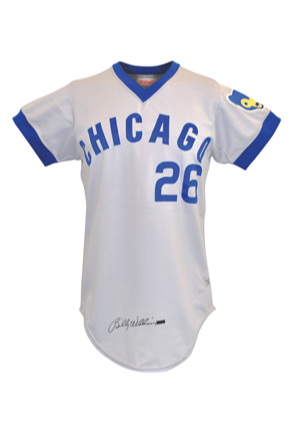 1974 Billy Williams Chicago Cubs Game-Used & Autographed Road Jersey (JSA • Scarce Example of a Rarely Offered HOFer)