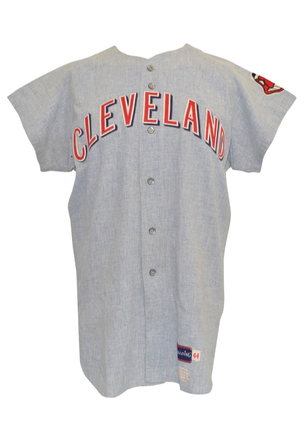 brand new fe3ea 1841f Lot Detail - 1970 Ray Fosse Cleveland Indians Game-Used Road ...