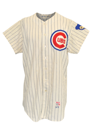1971 Fergie Jenkins Chicago Cubs Game-Used Home Flannel Jersey (Photo-Matched To 8/20/1971 Complete Game Victory & SI Cover • NL Cy Young Award)