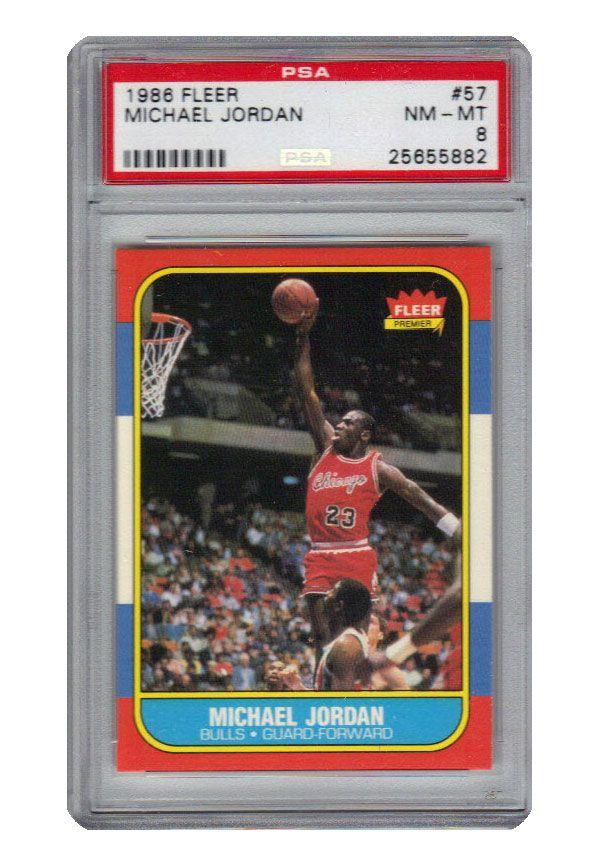 Lot Detail 1986 Fleer 57 Michael Jordan Chicago Bulls Rc