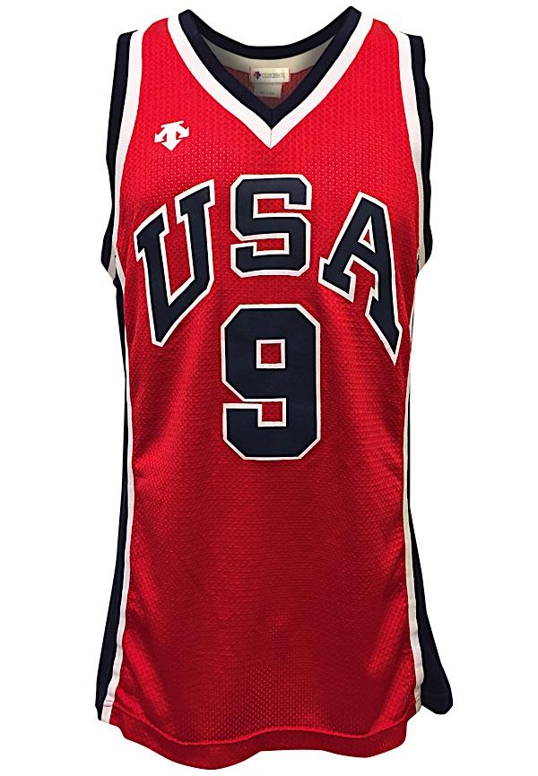 more photos 9f9ea 04c5e Lot Detail - 1984 Michael Jordan USA Olympic Men's ...