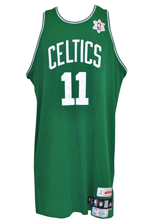 on sale 8ba8d 04c1b Lot Detail - 12/25/2008 Glen Davis Boston Celtics Christmas ...
