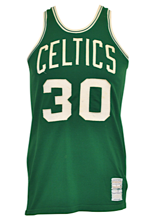 Boston Celtics Game-Used Jerseys — Circa 1975 Glenn McDonald Road & 1980-81 Wayne Kreklow Home (2)