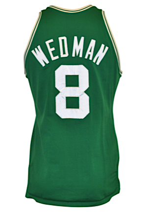1983-86 Scott Wedman Boston Celtics Game-Used Road Jersey