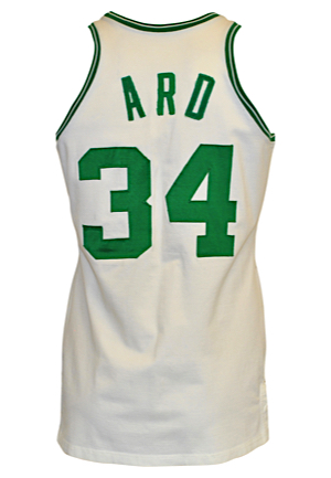 1974-75 Jim Ard Boston Celtics Game-Used Home Jersey