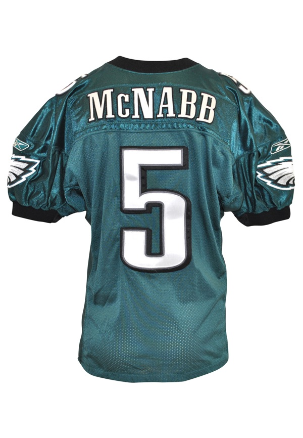 Lot Detail - 2004 Donovan McNabb Philadelphia Eagles Game-Used ...