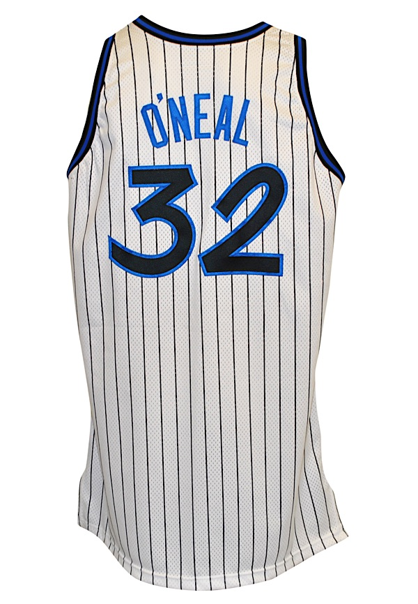 hot sale online f2e2b 21f84 Lot Detail - 1994-95 Shaquille O'Neal Orlando Magic Game ...