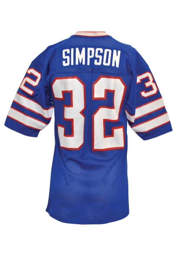 oj simpson buffalo bills jersey