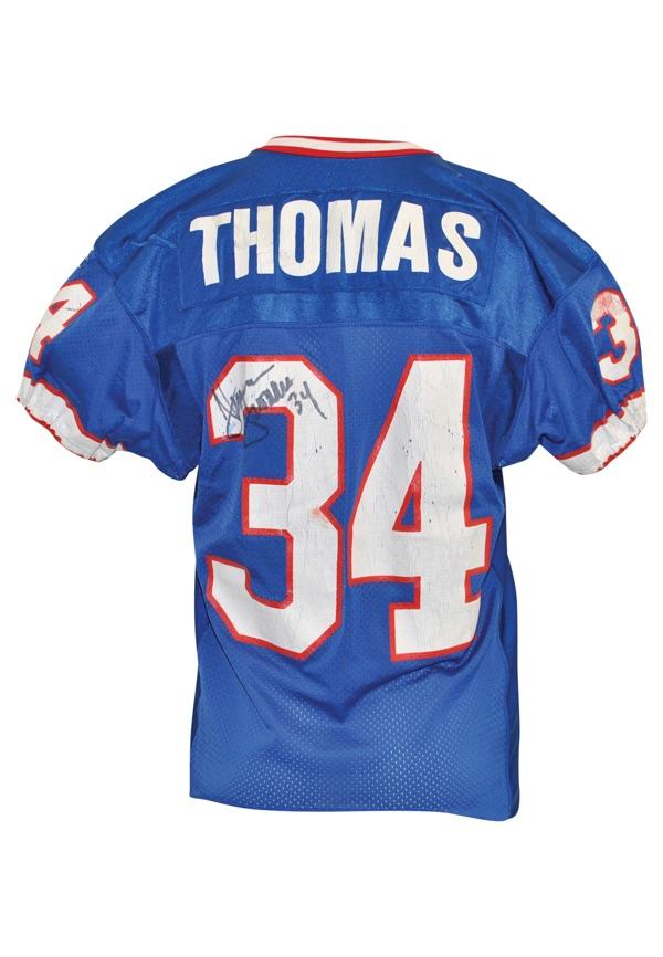 Lot Detail - 1/30/1994 Thurman Thomas Buffalo Bills Super Bowl ...