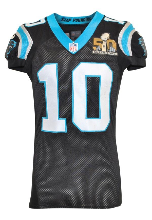 "e32fa91f Lot Detail - 2/7/2016 Corey ""Philly"" Brown Carolina Panthers Super ..."