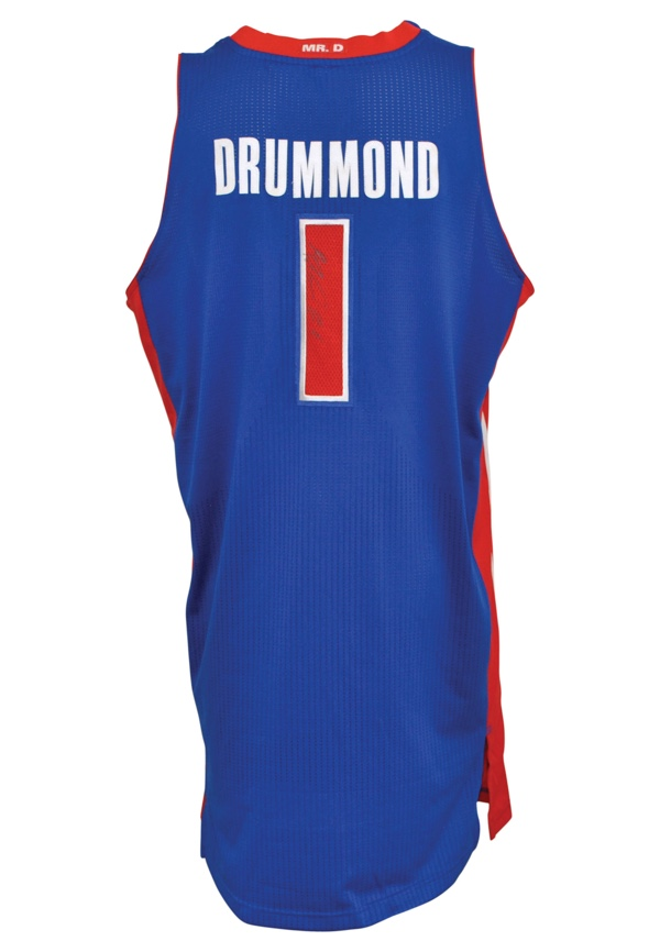 8563ba3d47f7 Lot Detail - 2012-13 Andre Drummond Detroit Pistons Game-Used ...