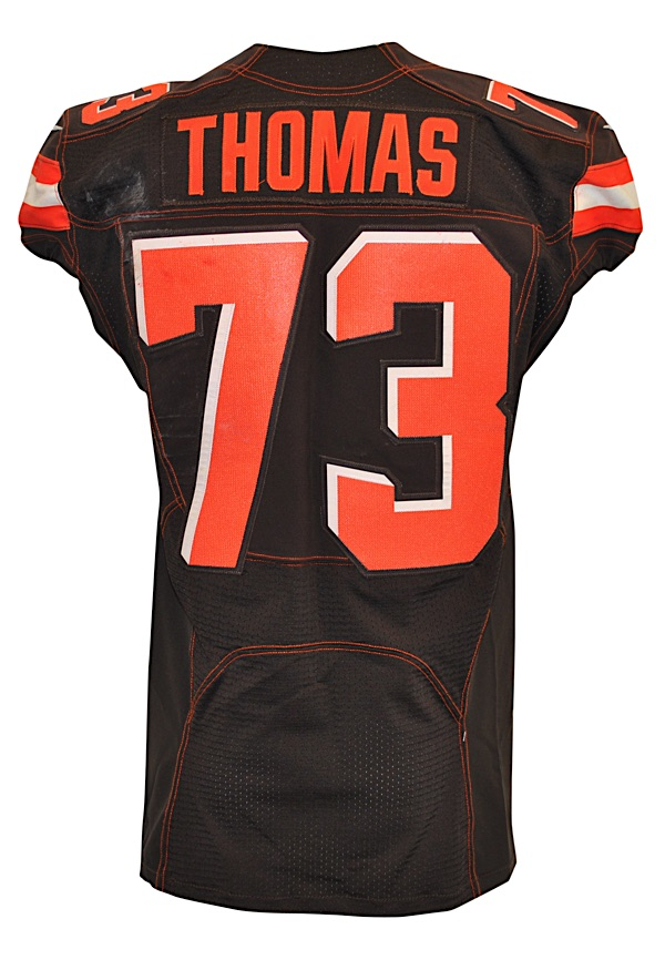 e9c54949646 cleveland browns game used jersey