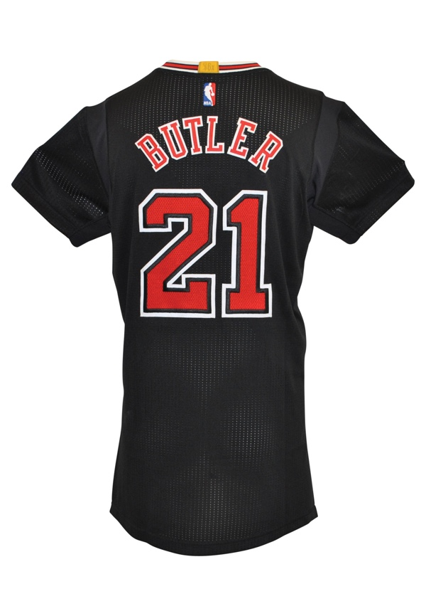 the best attitude a739c 893ea Lot Detail - 2014-15 Jimmy Butler Chicago Bulls Game-Used ...