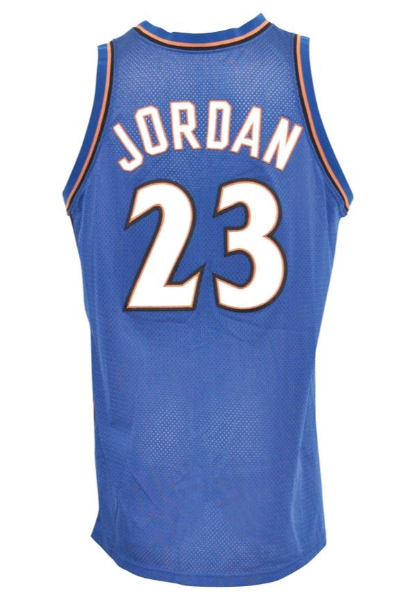 the best attitude 10d95 25110 Lot Detail - 2002-03 Michael Jordan Washington Wizards Game ...