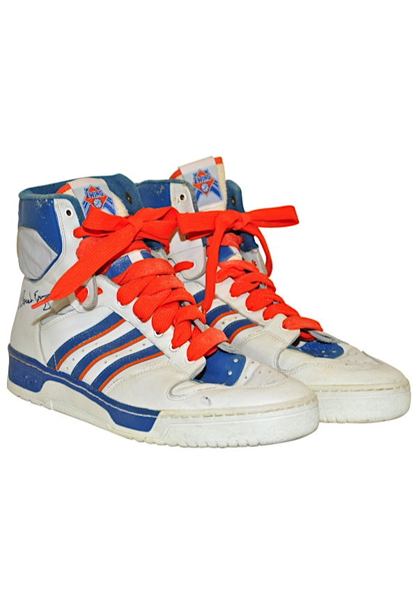 check out f4eca 0af59 Lot Detail - Late 1980s Patrick Ewing New York Knicks Game ...