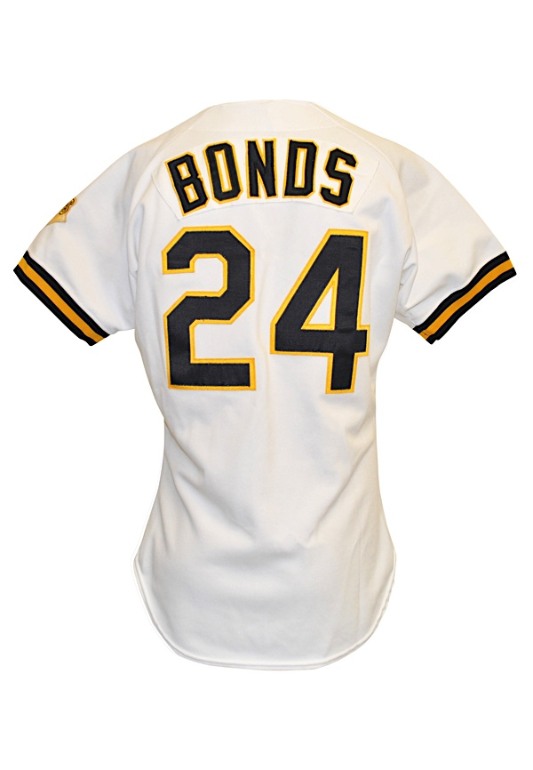 brand new 36d6f 218e6 Lot Detail - 1992 Barry Bonds Pittsburgh Pirates Game-Used ...
