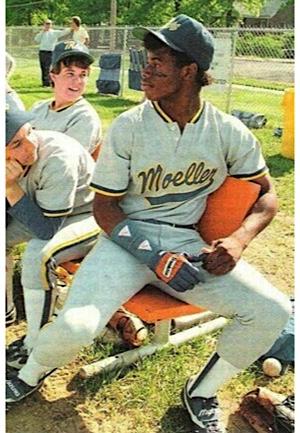 8c62db5377 Lot Detail - Late 1980s Ken Griffey Jr. Moeller High School Game ...