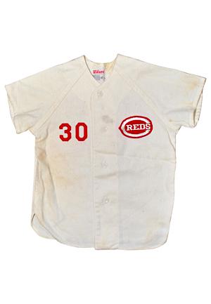 051d0748a4d Lot Detail - Circa 1974 Ken Griffey Jr. Cincinnati Reds Father-Son ...