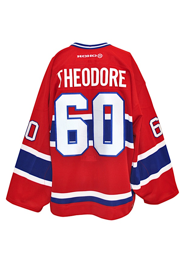 detailed look 8d280 111b8 Lot Detail - 4/1/2004 José Théodore Montreal Canadiens Game ...