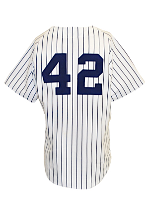 1997 Mariano Rivera New York Yankees Spring Training Worn Home Jersey (Steiner)