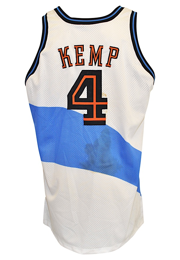 a7a0b6b29d06 Lot Detail - 1997-1998 Shawn Kemp Cleveland Cavaliers Game-Worn Home ...