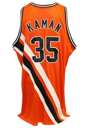 "2005-06 Chris Kaman Los Angeles Clippers ""Buffalo Braves"" Game-Used Hardwood Classics TBTC Jersey"
