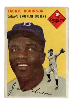 1954 Topps Jackie Robinson #10