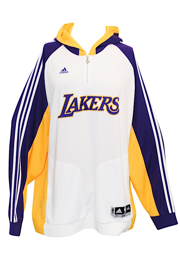 6291e890a007 Lot Detail - 2007-2016 Los Angeles Lakers Player-Worn Warm Up Suit ...
