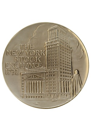 2003 Syracuse University Mens Basketball Team NCAA Division I Champions Opening Bell Ceremony Medallion