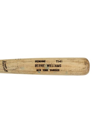 1991-97 Bernie Williams New York Yankees Game-Used Bat (PSA/DNA Pre-Cert)