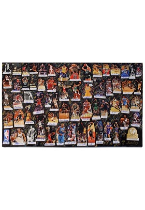 "2017 NBA Legends Of Basketball ""We Made This Game"" Multi-Signed LE Lithograph (JSA • 1/1 • UDA Holograms • Artist LOA)"