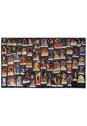 "2017 Gary Paytons Personal NBA Legends Of Basketball ""We Made This Game"" Multi-Signed LE Lithograph (JSA • 1/1 • UDA Holograms)"