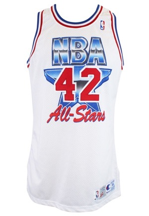 1991-92 Kevin Willis NBA All-Star Game Eastern Conference Game-Used Jersey (Photo-Matched)