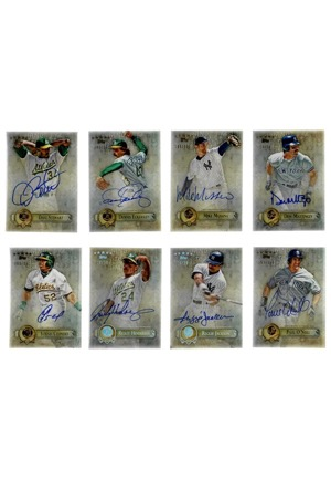 "2013 Topps Baseball ""Five Star"" LE Near-Complete Set Autographed Cards Featuring Koufax, Banks, Palmer & Many Others (82)(JSA)"