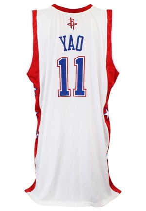 2003-04 Yao Ming NBA All-Star Game Western Conference Game-Used Jersey