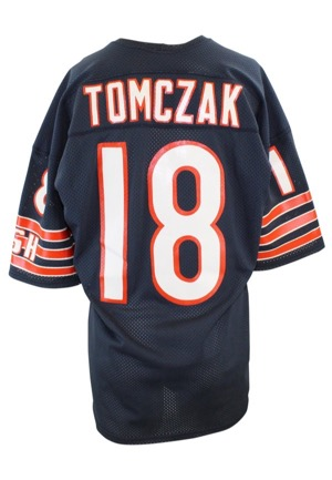 Mid 1980s Mike Tomczak Chicago Bears Game-Used Home Jersey