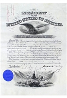 Circa 1899 William McKinley Autographed Presidential Documents (3)(JSA • PSA/DNA)