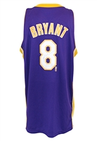2004-05 Kobe Bryant Los Angeles Lakers Game-Used & Autographed Road Jersey (JSA • NBA Hologram • DC Sports)