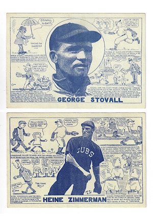 1914 Heine Zimmerman & George Stovall E. & S. Publishing Co. Postcards (2)