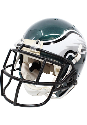 2010 DeSean Jackson Philadelphia Eagles Game-Used Helmet