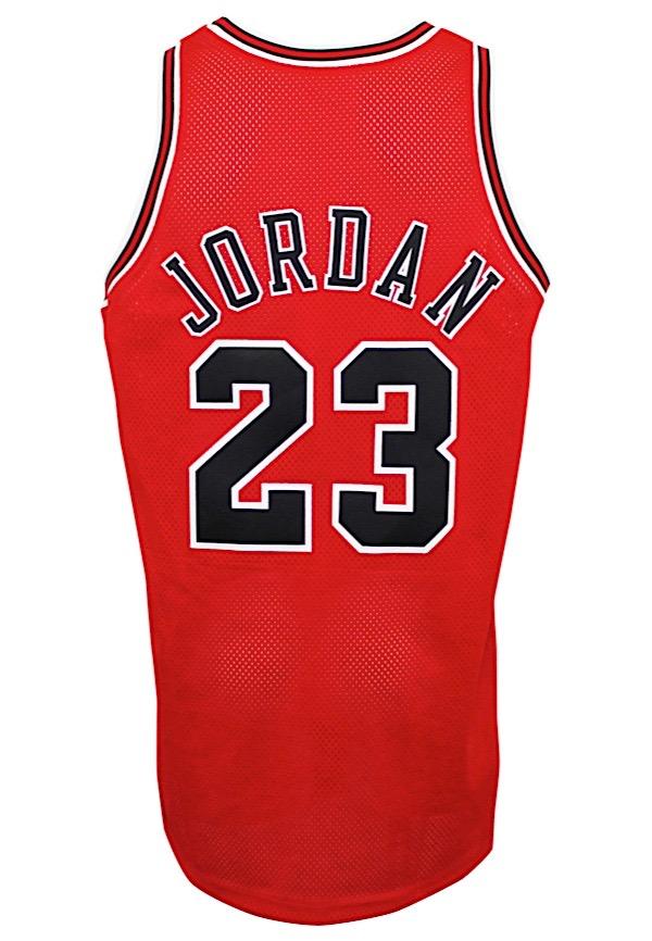 separation shoes 0f632 fadaa Lot Detail - 1997-98 Michael Jordan Chicago Bulls Game-Used ...