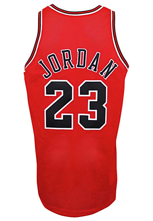 1997-98 Michael Jordan Chicago Bulls Game-Used Road Jersey (Championship Season • MVP Season)