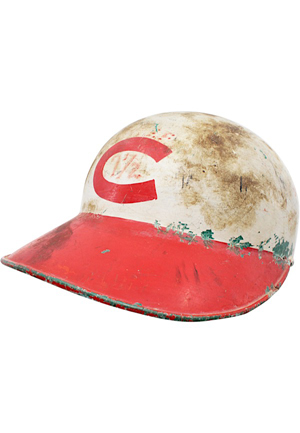 Circa 1961 Cincinnati Reds Game-Used Batting Helmet (Rare Style)