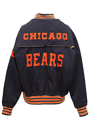 Late 1950s Charlie Sumner Chicago Bears Player-Worn Sideline Jacket (Fantastic Condition)