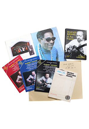 Books & Pictorial Programs From The Barney Kessel Library (5)