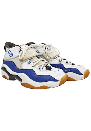 Barry Sanders Detroit Lions Player-Worn Turf Shoes (Tremendous Wear)