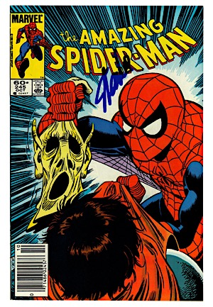 "October 1983 Stan Lee Autographed ""The Amazing Spider-Man"" #245 Marvel Comic Book (JSA)"